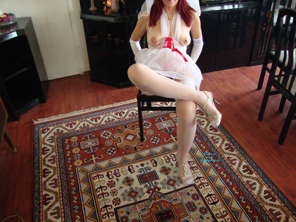 Nude Redhead Bride Sitting At Home - Big Tits, Chair, Firm Tits, Flashing Tits, Flashing, Heels, Indoors, Nipples, Red Hair, Redhead, Showing Tits, Stockings, Hot Girl, Sexy Body, Sexy Boobs, Sexy Legs, Sexy Lingerie, Sexy Woman, Wife/wives , Bride, Redhead, Sitting, Heels, Stockings, Flashing, Tits