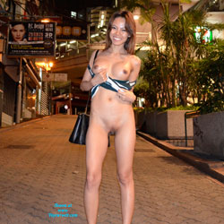 Night Flashing in Hong Kong - Asian Girl, Big Tits, Exposed In Public, Flashing, Nude In Public, Shaved , Hi Everyone,  It's Been A While Since I've Been On VW. Thought I'd Put Some New Photos Up Of Me Having Fun Flashing In Hong Kong.  Hope You Enjoy!  Julie P. XOXOXOXO