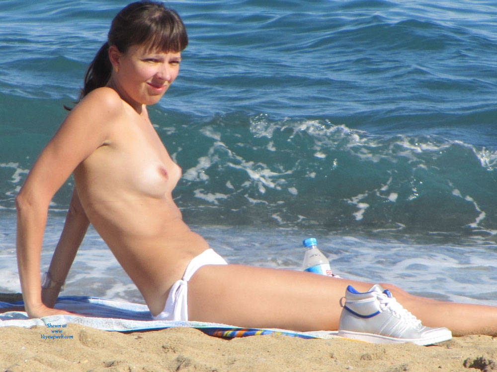 Chilling Topless At The Beach - Bikini, Brunette Hair, Erect Nipples, Exposed In Public, Firm Tits, Nipples, Nude Beach, Nude In Nature, Nude In Public, Nude Outdoors, Perfect Tits, Showing Tits, Topless Beach, Topless Girl, Topless Outdoors, Water, Beach Tits, Beach Voyeur, Sexy Body, Sexy Boobs, Sexy Figure, Sexy Legs, Sexy Woman , Brunette, Nude, Topless, Beach, Tits, Legs