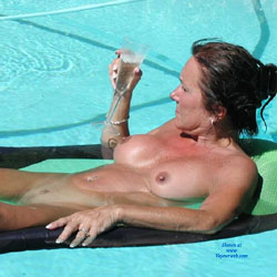 By The Pool - Big Tits, Perfect Tits, Wet , An Afternoon By The Pool