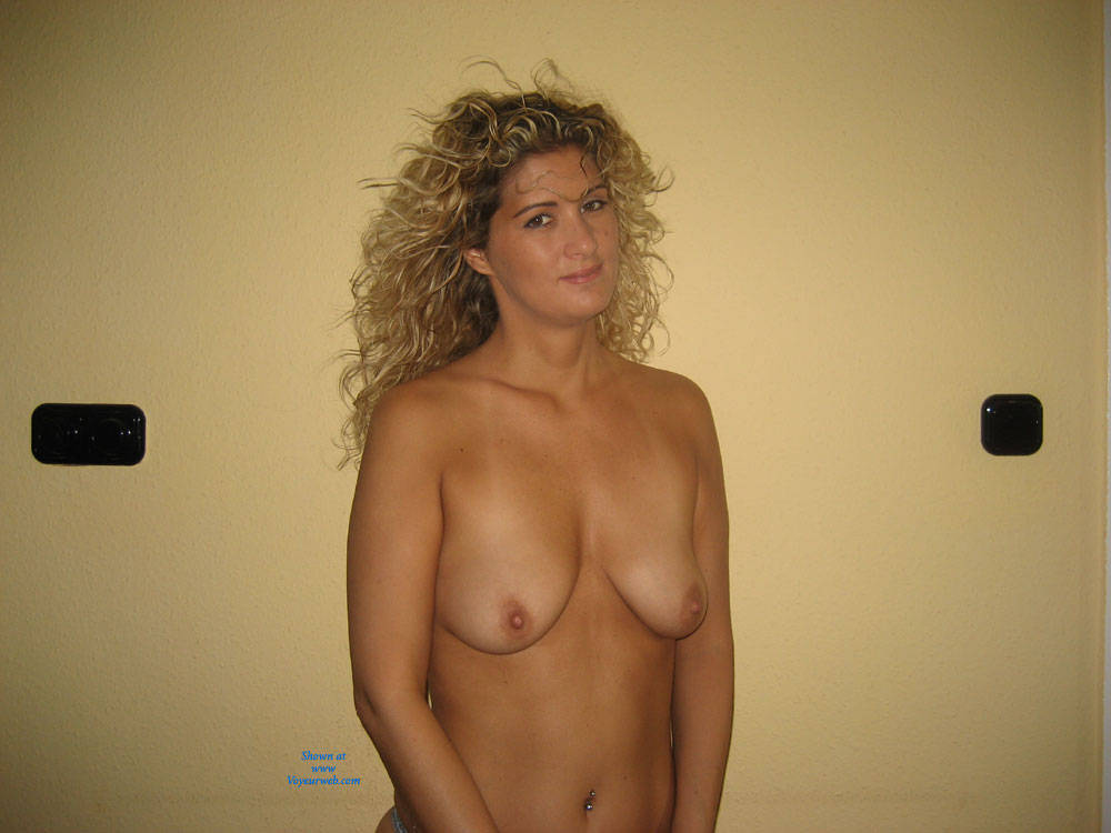 Pic #1Colorful Pictures - Blonde, Medium Tits, Natural Tits