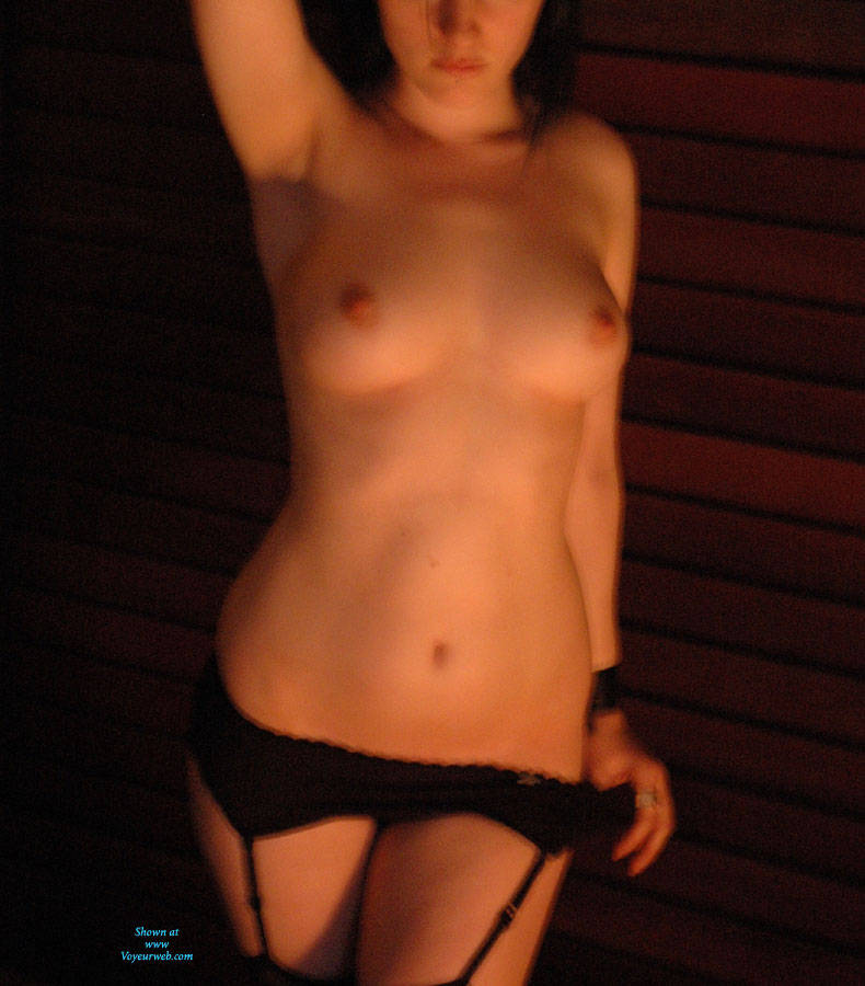 Pic #1Stripping On The Balcony - Striptease