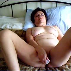Working My Clit and Pussy - Big Tits, Brunette Hair, Masturbation, Toys , WORKING MY CLIT AND PUSSY INTO AN ORGASM