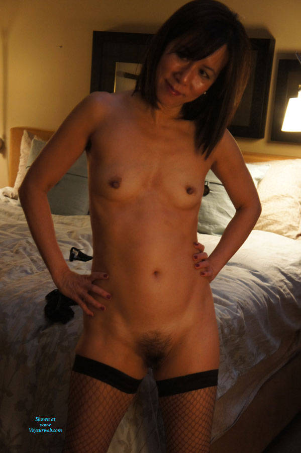 Nude hairy korean pussy