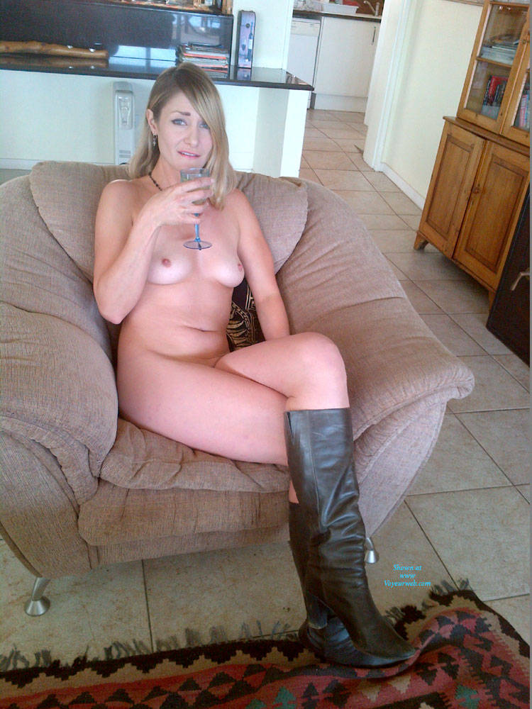 Hot Fun - Blonde Hair, Milf, Perfect Tits , Friend Wants To Hear Your Comments. This Is Her First Time