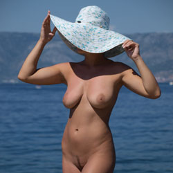 Naked In White Hat  - Big Tits, Exposed In Public, Full Nude, Hanging Tits, Huge Tits, Naked Outdoors, Nude Beach, Nude In Nature, Nude In Public, Perfect Tits, Water, Beach Pussy, Beach Tits, Beach Voyeur, Hot Girl, Naked Girl, Sexy Body, Sexy Boobs, Sexy Figure, Sexy Girl, Sexy Legs, Sexy Woman , Naked, Beach, Hat, Trimmed Pussy, Big Tits, Legs, Outdoor