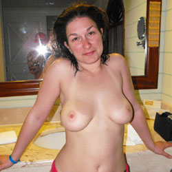 Topless In The Bathroom - Big Tits, Brunette Hair, Hanging Tits, Huge Tits, Indoors, Large Breasts, Perfect Tits, Showing Tits, Topless Girl, Topless, Hot Girl, Sexy Body, Sexy Boobs, Sexy Face, Sexy Figure, Sexy Girl, Sexy Legs, Sexy Panties, Sexy Woman , Sexy, Brunette, Topless, Nude, Pantie, Legs, Big Tits