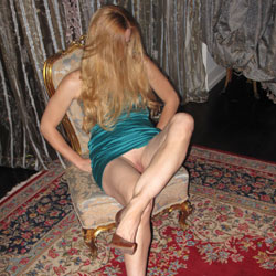 Blonde's Sexy Legs On Chair - Blonde Hair, Chair, Heels, Long Legs, No Panties, Shaved Pussy, Pussy Flash, Sexy Girl, Sexy Legs, Sexy Woman, Dressed , Sexy, Blonde Girl, Legs, Shaved Pussy, Mini Dress, Heels
