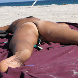 Playing - Beach