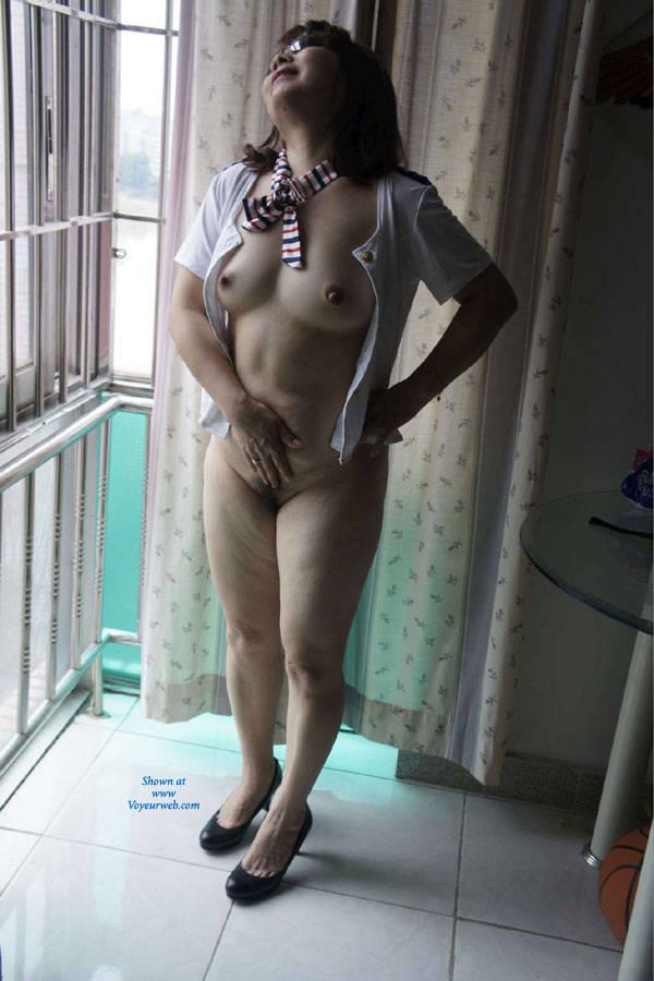 Hong kong wife hairy naked photo — photo 2