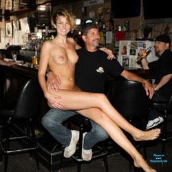 Monnie Visits The Local Tavern