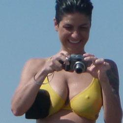 Great Nipples On The Beach - Bikini Voyeur, Beach