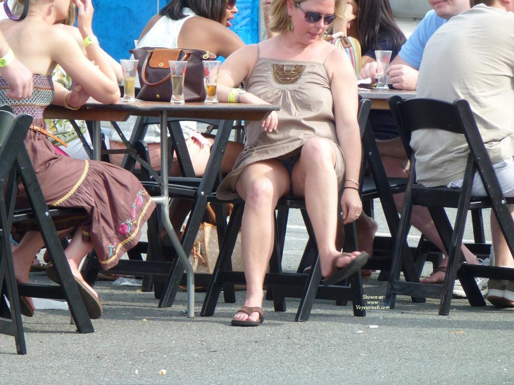 Situation familiar public sitting upskirt voyeur never impossible