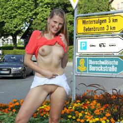 Bri Pantiless In Heiligenberg