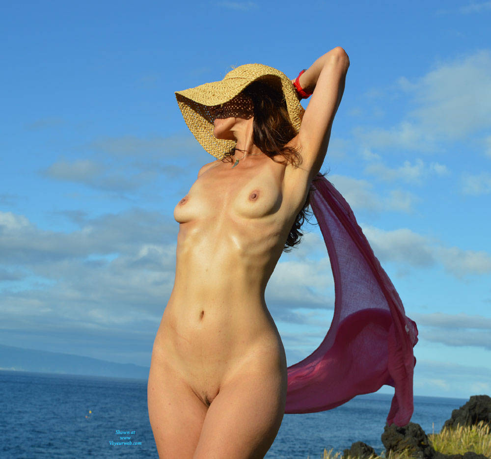 Naked Feeling The Wind - Brunette Hair, Exposed In Public, Full Nude, Natural Tits, Nipples, Nude In Nature, Showing Tits, Small Breasts, Small Tits, Trimmed Pussy, Sexy Body, Sexy Feet, Sexy Figure, Sexy Girl, Sexy Woman , Naked, Outdoor, Brunette, Hat, Trimmed Pussy, Legs, Small Tits
