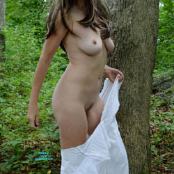 Zeena In The Forest - Big Tits, Nature
