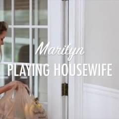 Marilyn Playing Housewife