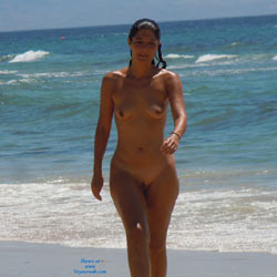 Hot Sun - Brunette Hair, Beach Voyeur , I Like Nude