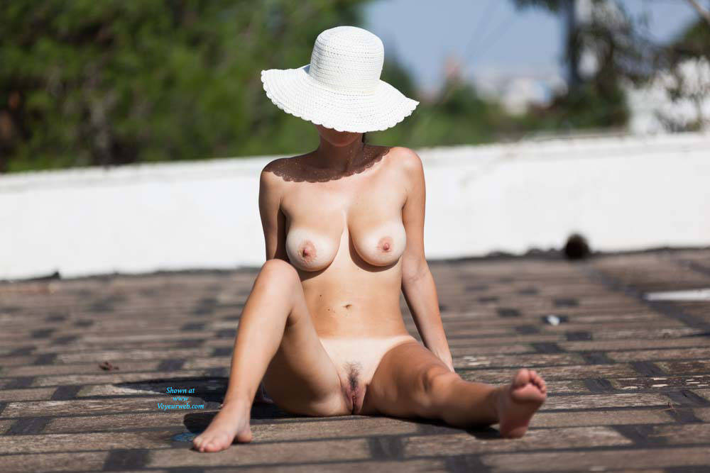 Naked On The Roof - Big Tits, Brunette Hair, Exposed In Public, Full Nude, Hanging Tits, Huge Tits, Large Breasts, Naked Outdoors, Nude In Public, Perfect Tits, Pussy Lips, Showing Tits, Trimmed Pussy, Hot Girl, Sexy Body, Sexy Boobs, Sexy Girl, Sexy Legs, Sexy Woman, Young Woman , Naked, Sexy, Outdoor, Hat, Big Tits, Legs, Big Tits,