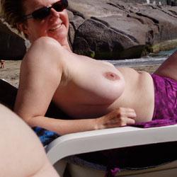 Ivana's Holiday - Big Tits, Beach