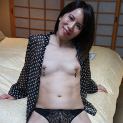 Carolyn Jane Stripping Part Two - Brunette, Bush Or Hairy