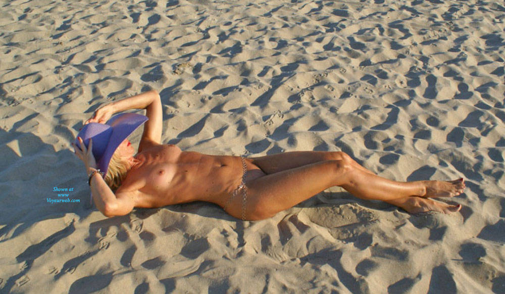 Do You Like My Tanlines? - Beach Voyeur, Wife/wives , A Weekend Of Sun And Fun With My Hubby And Two Friends