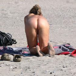 Hot Hot Hot Day At The Beach - Beach