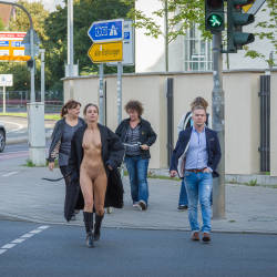 Hot And Sexy Pedestrian - Brunette Hair, Exposed In Public, Firm Tits, Flashing, Nipples, No Panties, Nude In Public, Shaved Pussy, Showing Tits, Small Breasts, Small Tits, Hairless Pussy, Hot Girl, Sexy Girl, Sexy Legs , Naked, Nude In Public, Brunette, Boots, Small Tits, Shaved Pussy, Legs