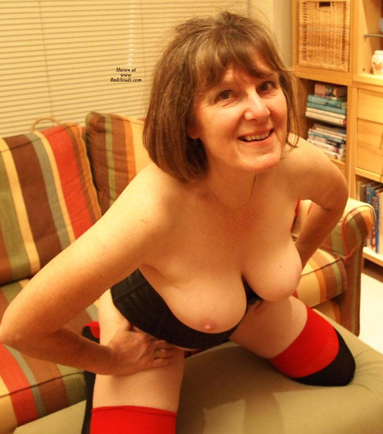 Pic #1Some Evening Fun - Big Tits, Shaved