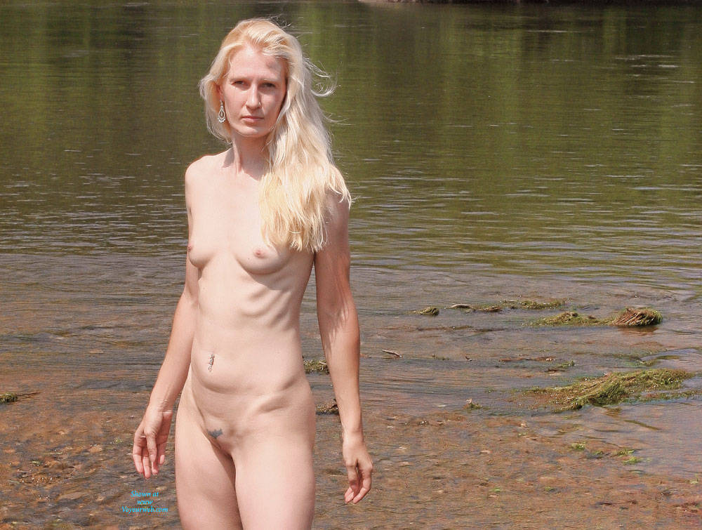 Naked Blonde From The River - December, 2014 - Voyeur Web -8355