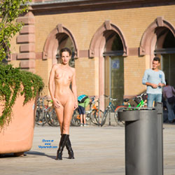 Naked Wearing Boots In Public - Boots, Brunette Hair, Erect Nipples, Exposed In Public, Firm Tits, Full Nude, Naked Outdoors, Nipples, Nude In Public, Nude Outdoors, Shaved Pussy, Showing Tits, Small Breasts, Small Tits, Hairless Pussy, Hot Girl, Naked Girl, Sexy Body, Sexy Boobs, Sexy Face, Sexy Figure, Sexy Girl, Sexy Legs, Sexy Woman , Sexy, Brunette, Naked, Nude In Public, Boots, Shaved Pussy, Medium Tits