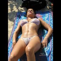 Mini Bikini - Bikini, Nude Beach, Wicked Weasel , Mini Bikini, See Through Bikini, See Thru Wicked Weasel, Sunning On The Beach, Microkini