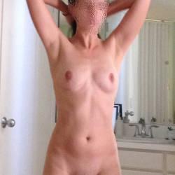 Medium tits of my wife - Anon