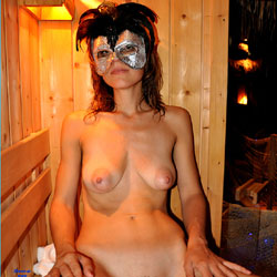 Valentina And Sauna - Brunette, Big Tits