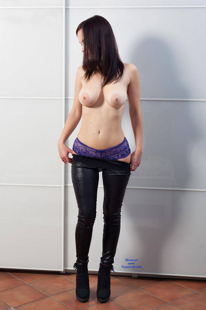 Topless And Sexy In Her Room - Big Tits, Brunette Hair, Huge Tits, Natural Tits, Nipples, Perfect Tits, Showing Tits, Topless Girl, Topless, Hot Girl, Sexy Body, Sexy Boobs, Sexy Figure, Sexy Girl, Young Woman , Brunette, Big Tits, Natural Tits. Topless, Nude, Heels, Pants