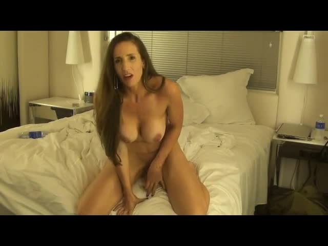 Pic #1Lonely With Dildo ... MarieS - Big Tits, Brunette, Masturbation, Shaved, Toys