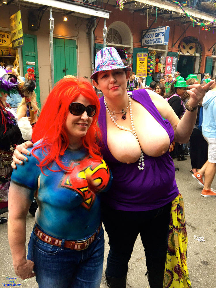 Mard Gras Tits Out 13