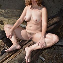Random - Big Tits, Outdoors