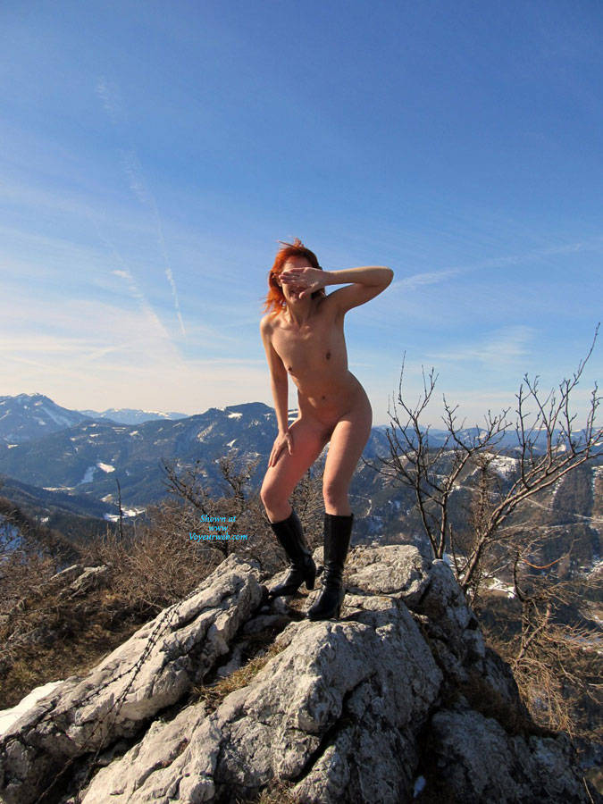 Mountain Climbing Naked - Boots, Exposed In Public, Firm Tits, Full Nude, Hard Nipple, Naked Outdoors, Nipples, Nude In Nature, Nude Outdoors, Red Hair, Redhead, Hot Girl, Naked Girl, Sexy Body, Sexy Face, Sexy Figure, Sexy Girl, Sexy Legs, Wife/wives , Redhead, Naked, Nature, Boots, Small Tits, Legs, Pussy