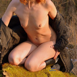 Redhead Poses Naked In Nature - Boots, Erect Nipples, Exposed In Public, Firm Tits, Hard Nipple, Naked Outdoors, Nipples, No Panties, Nude In Nature, Nude In Public, Nude Outdoors, Redhead, Short Hair, Small Tits, Hot Girl, Sexy Body, Sexy Face, Sexy Figure, Sexy Girl, Sexy Legs, Wife/wives , Redhead, Naked, Nature, Boots, Legs, Small Tits, Nipples