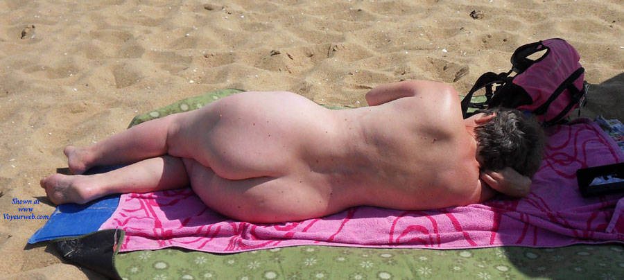 Pic #1At The Beach - Beach, Brunette, Wife/wives