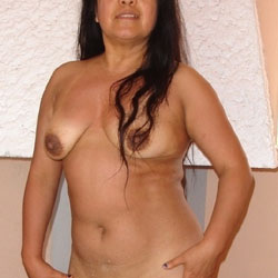 Posing For Your Eyes Only! - Big Tits, Brunette, Bush Or Hairy