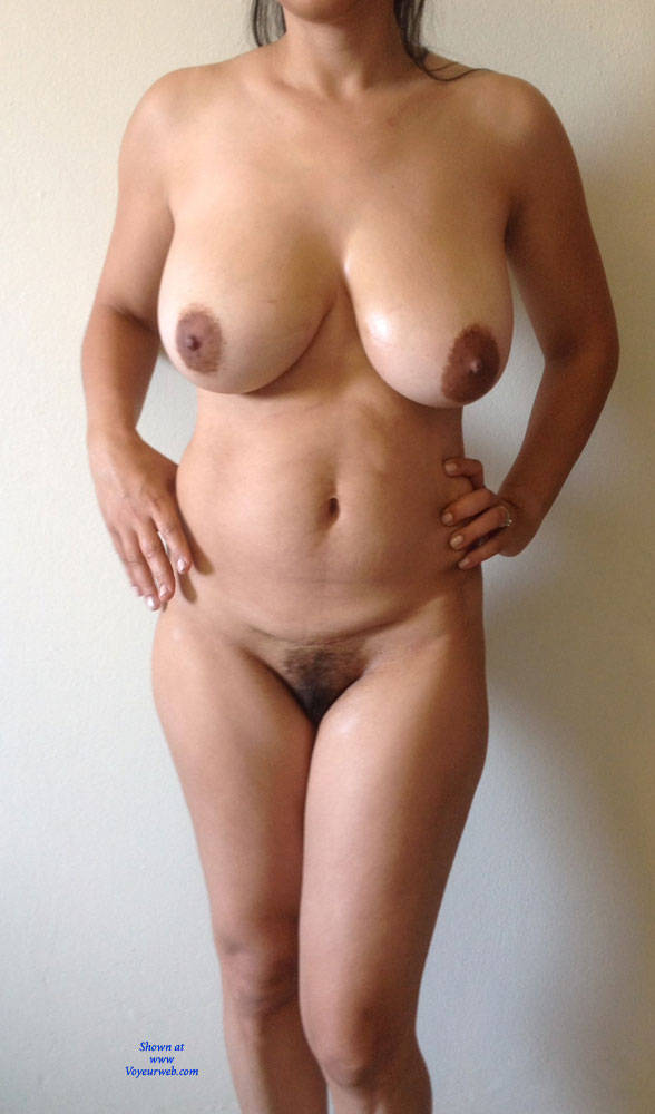 Pic #1Milfy Veronica Showing Bush - Big Tits, Bush Or Hairy