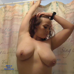 About To Go Get In The Shower But First... - Big Tits