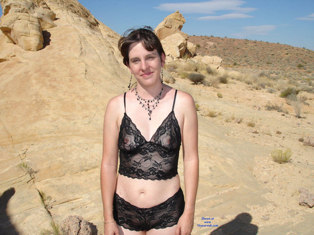 in desert the nude Hot