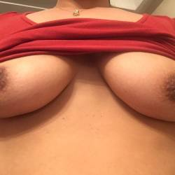 Large tits of my wife - Rania