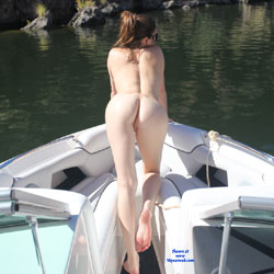Naked Brunette Riding A Boat On The Lake - Brunette Hair, Exposed In Public, Naked Outdoors, Nude In Nature, Nude Outdoors, Round Ass, Sunglasses, Water, Hot Girl, Sexy Ass, Sexy Body, Sexy Feet, Sexy Girl, Sexy Legs , Nude, Brunette, Nature, Lake, Naked, Butt, Sexy, Outdoor