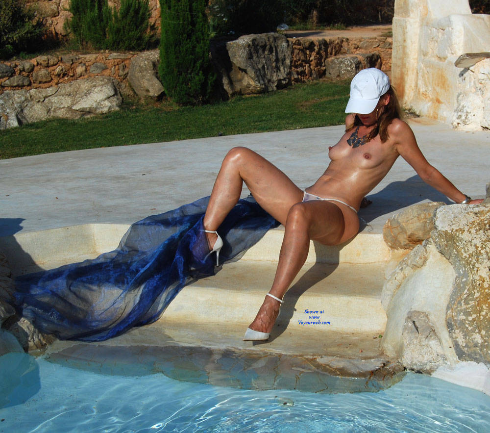 Lilly On Vacation - Heels , Beautiful Model, Nude Babe, Bikini Babe, See Through
