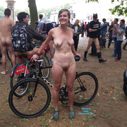 London Naked Bike Ride 2015 - Big Tits, Bush Or Hairy