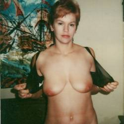 Medium tits of my wife - Jeanne